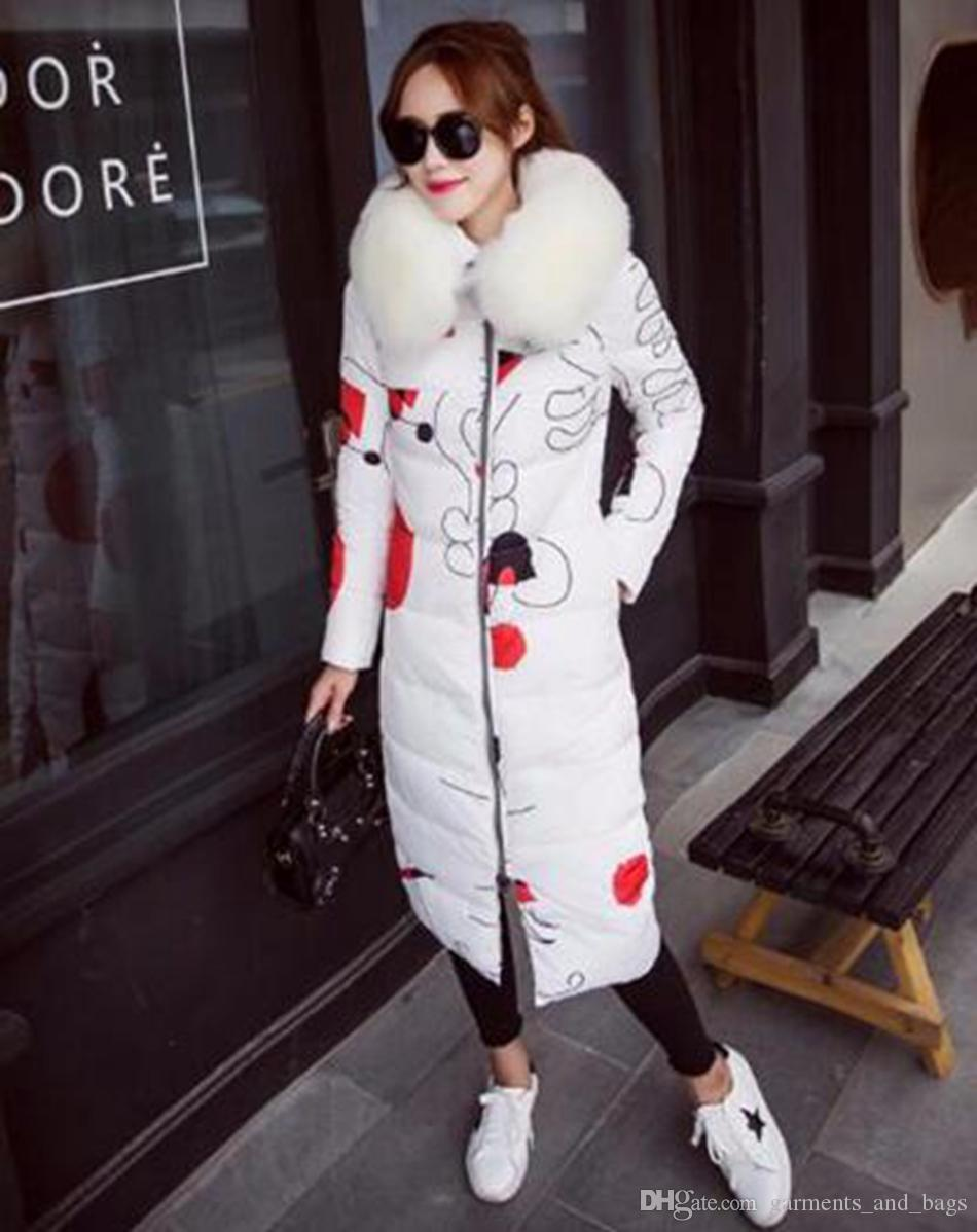 More women winter new personality, cultivate one's morality show thin heavy cotton-padded jacket down jacket coat / S-XL
