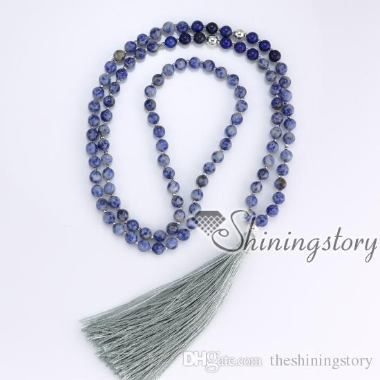 108 mantra meditation beads indian buddhist tibetan hindu prayer beads necklace yoga mala bead necklace yoga healing spiritual jewelry