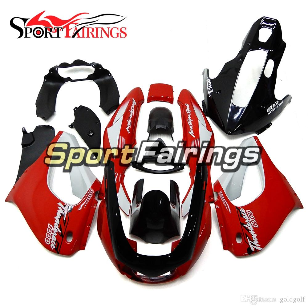 Red Black Fairings For Yamaha YZF1000R Thunderace 1997 1998 1999 2000 2001 2002 2004 2005 2006 007 ABS Plastic Motorcycle Cowlings New