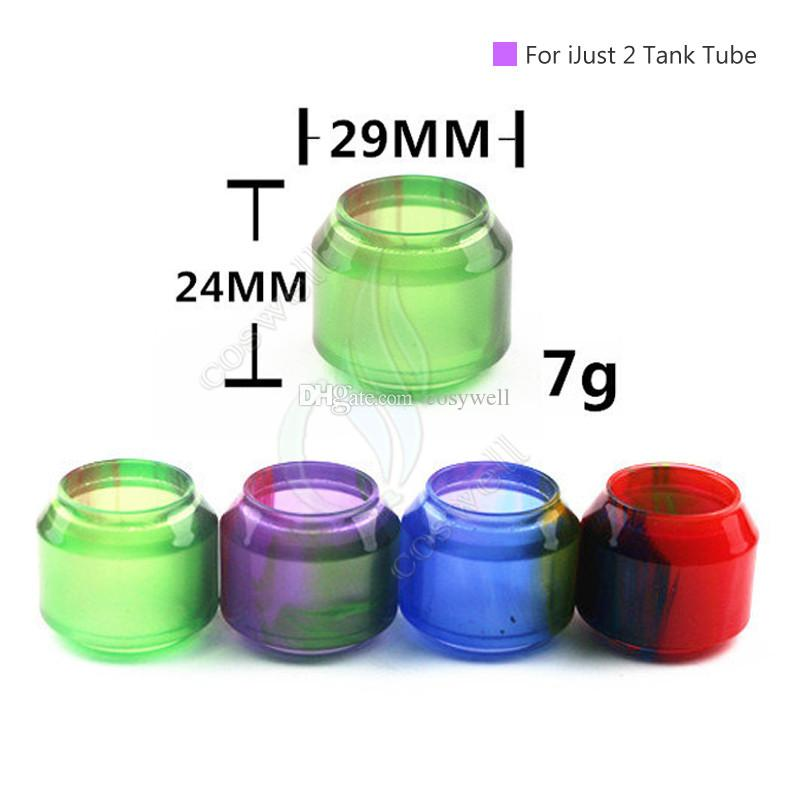 Replacement Epoxy Resin Expansion Tube for Cleito120 SMOK TFV8 Big Baby TFV12 Just2 Melo III mini Tank The Troll RTA 7ml Atomizer Tubes DHL