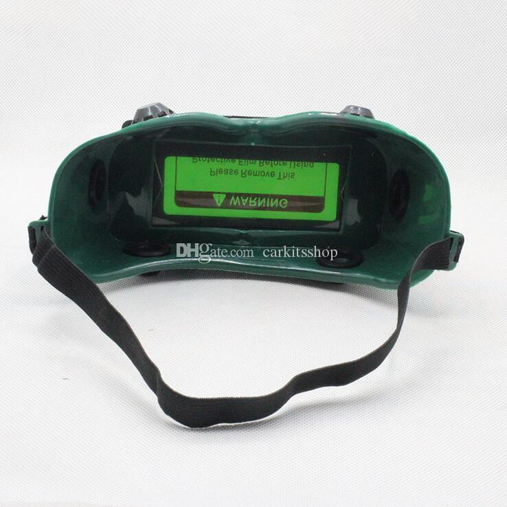 الشمسية السيارات سواد قناع لحام خوذة DIN9-DIN13 عيون حملق نظارات لحام عامل سلامة العمل واقية نظارات