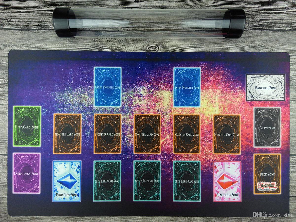 Großhandel Yugioh Custom Playmat Master Regel 4 Link Zonen Tcg Matte ...