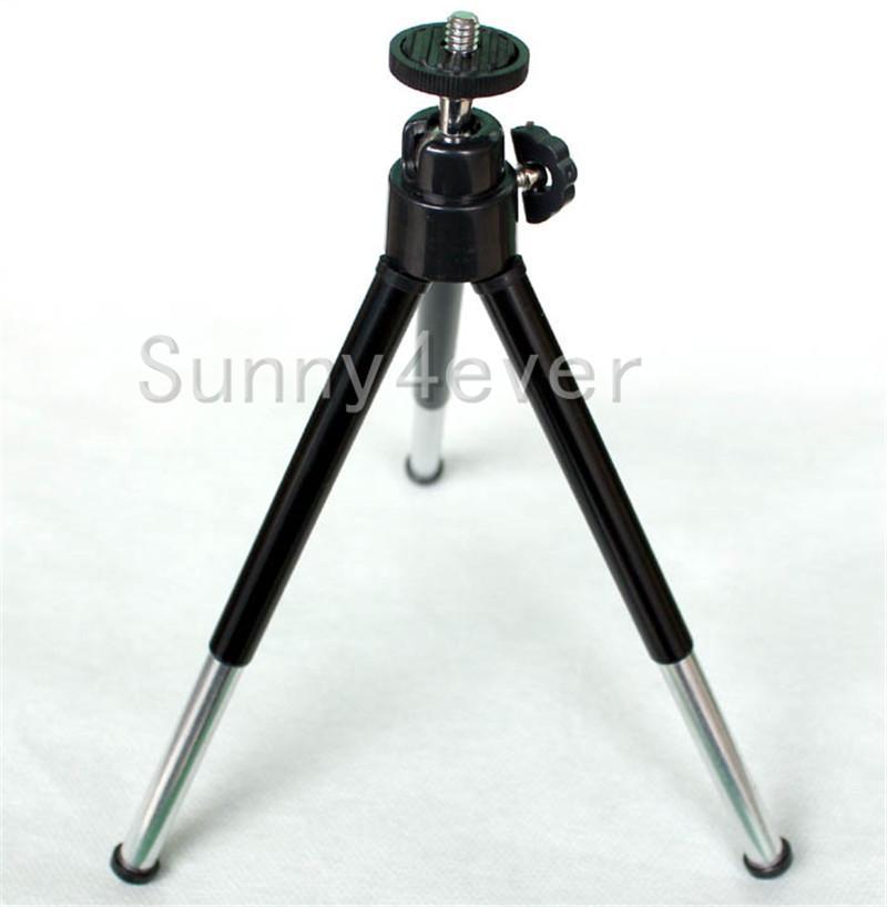 Mini cámara portátil de viaje trípode de sobremesa monopie para Iphone 5 6 7 Samsung Cámara Gopro DV videocámara