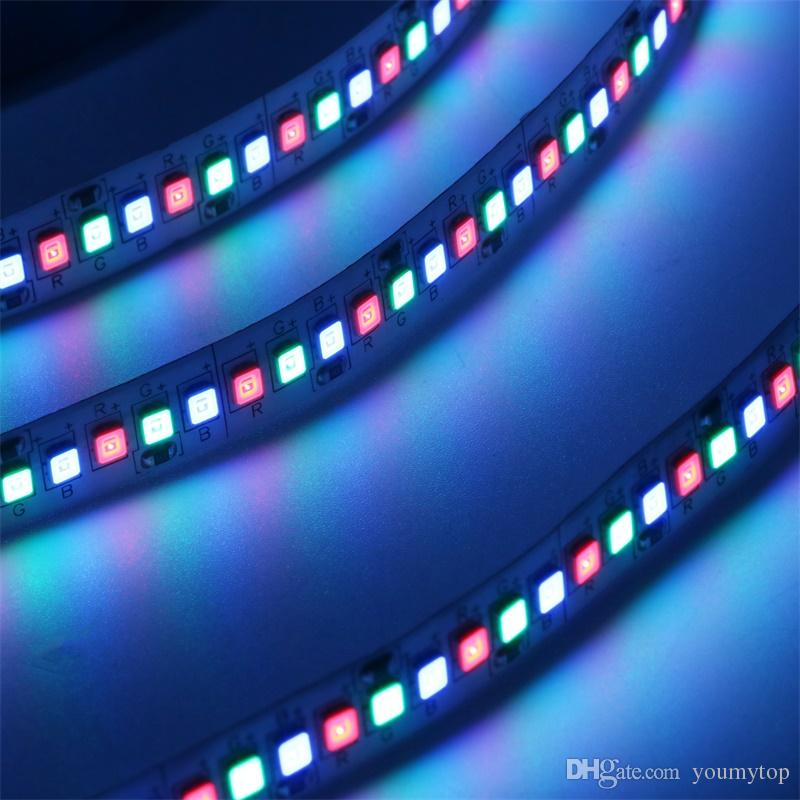 New Arrival 5M2835 234leds Non-waterproof Led Light Strip RGB DC 12V 10mm Width Decor Light
