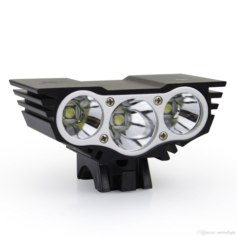 X3 Waterproof Mini Led Bicycle Light Headlight Cree Xm L Led