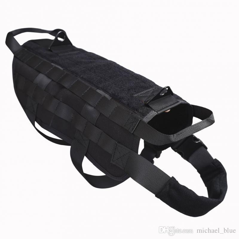 Tactical Hunting Dog Vest Molle System Harness Use Canine Training Vest Pet Dog Outdoor Wear Jacket Dog Hunting Vest