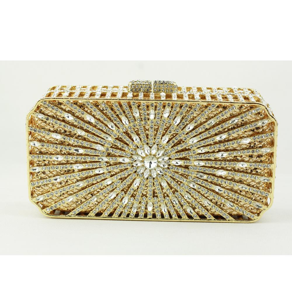 Wholesale Small Crystal Evening Clutch Bags
