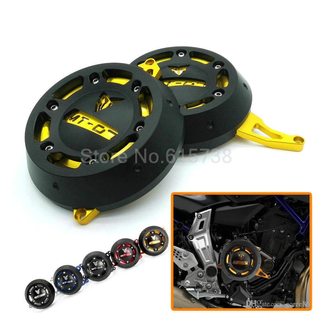 Moto MT 07 Motore Stator Cover Case Protezione Protettiva Copertura del Motore YAMAHA MT-07 MT07 FZ-07 FZ07 i