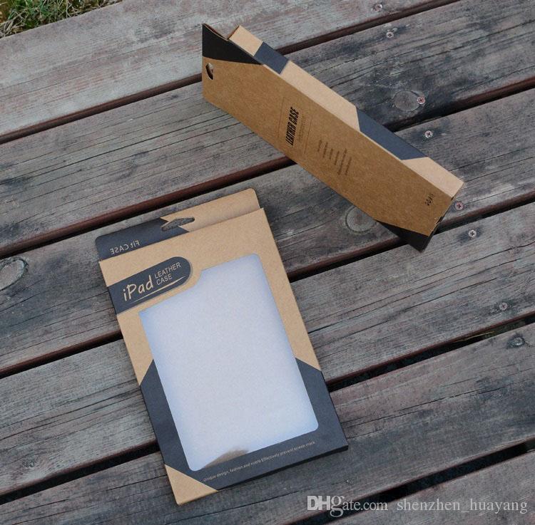 Kraft paper Confezione confezione da vendita i pad mini 2 3 4 5 air 2 Tablet PC 7.9 Custodia in pelle da 9,7 pollici Custodie scatole