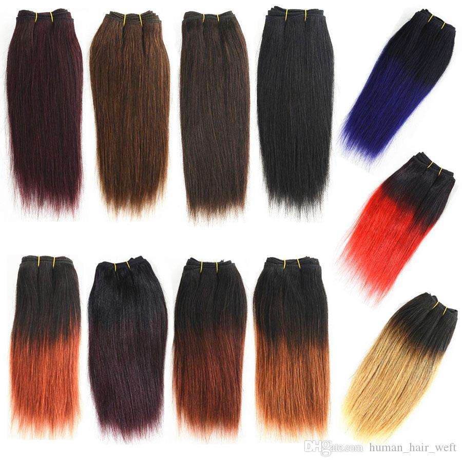 Cheap wholesale 8 inch ombre human hair weave 50gpc straight cheap wholesale 8 inch ombre human hair weave 50gpc straight short bob style black brown red purple burgundy auburn blonde remy hair extensions weft remy pmusecretfo Gallery