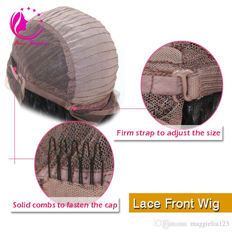 100% Unprocessed Full Lace Wigs Virgin Peruvian Short Straight Bob Full Lace Human Hair Wigs For Black Women Short Bob Lace Front Wigs