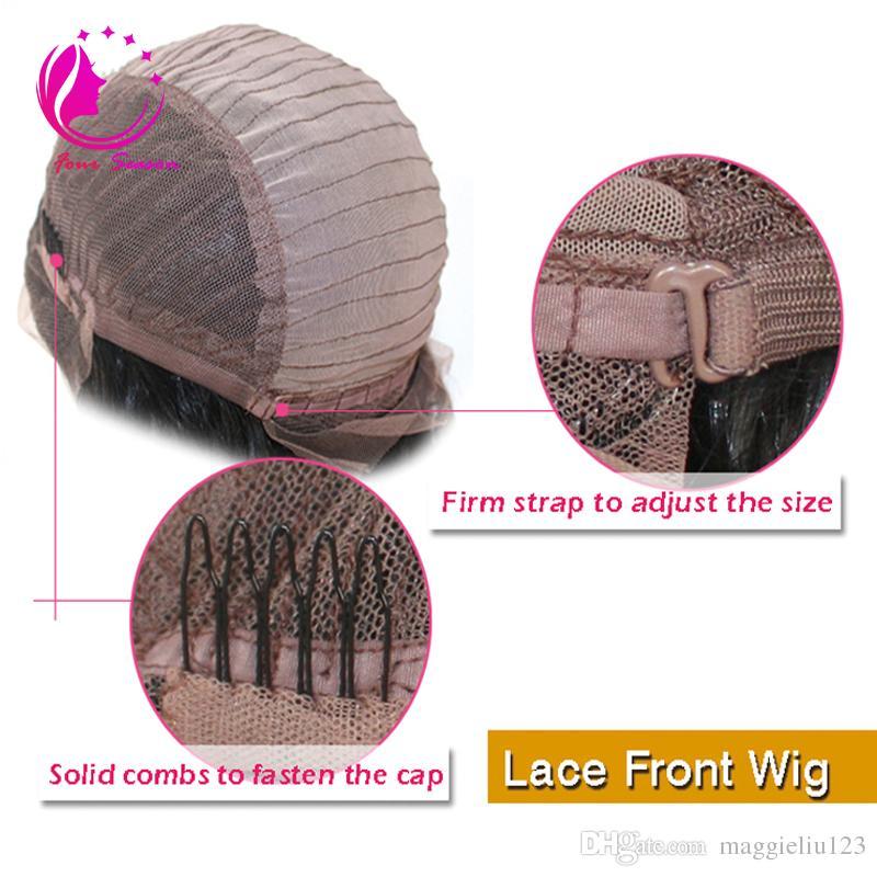 Top-Qualität Menschenhaarperücke volle Spitze Perücke Lace Front Perücken mit Baby-Haar Großhandelspreis verworrene gerade Menschenhaarperücken