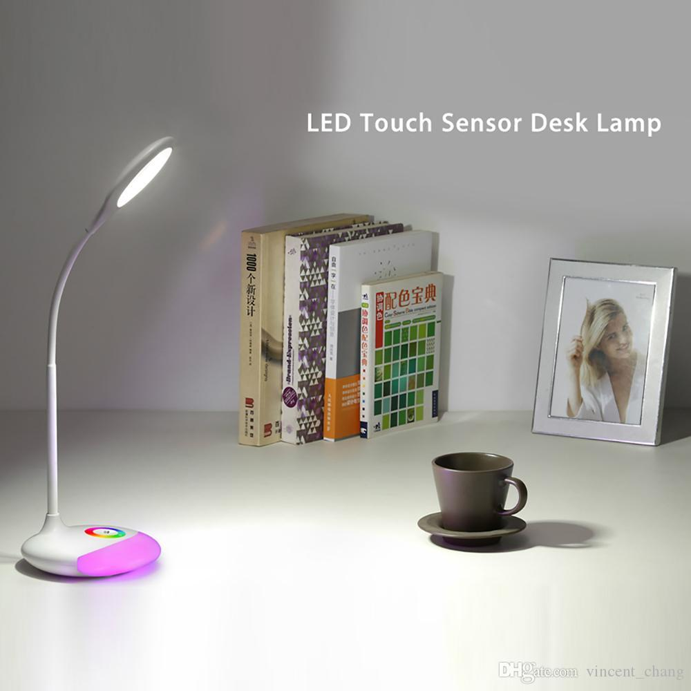 2018 rechargeable led table lamp usb touch sensor led dimmable 2018 rechargeable led table lamp usb touch sensor led dimmable desk lamp adjustable rgb nightlight color changeable from vincentchang 1573 dhgate geotapseo Choice Image