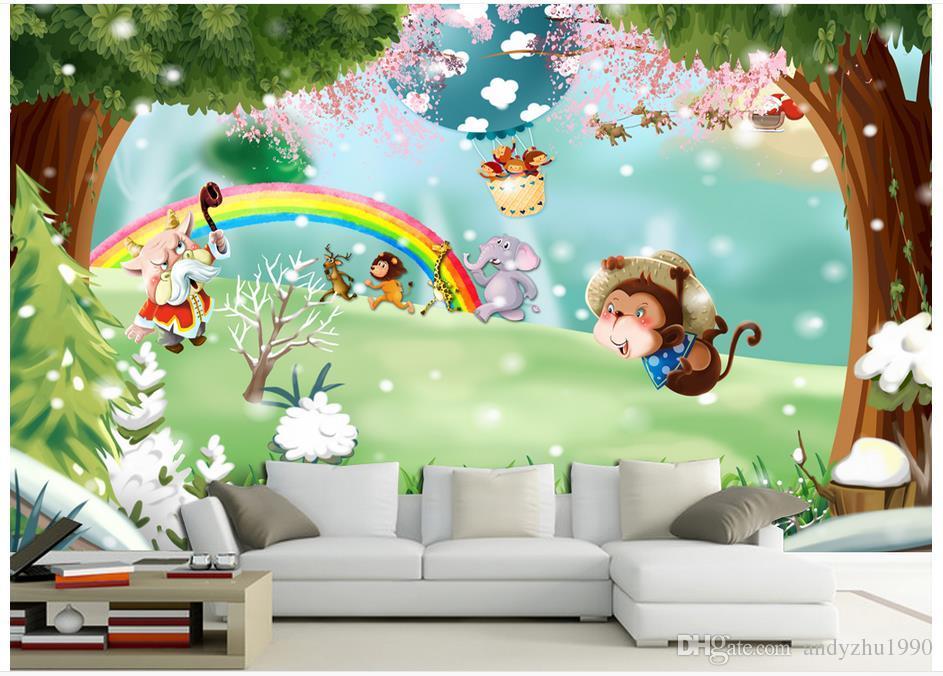 Fototapete Kinderzimmer E   Grosshandel 3d Fototapete Benutzerdefinierte Grosse Wandbild Vlies