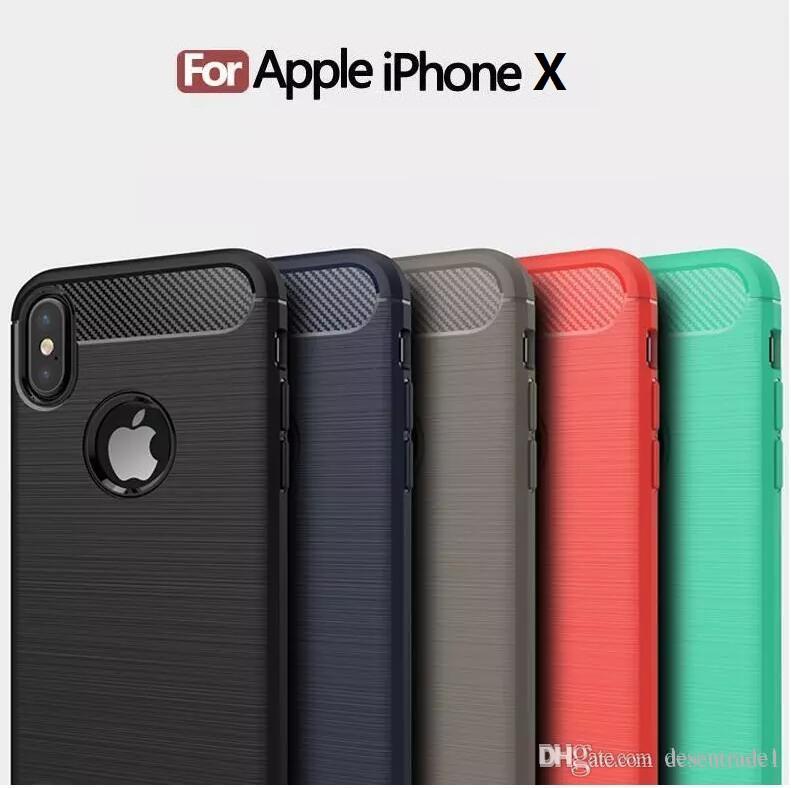 custodia carbonio iphone x