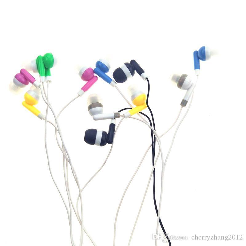 A granel al por mayor de auriculares auriculares auriculares para la escuela Aula, bibliotecas, hospitales, Teatro Museo regalo