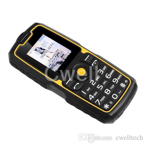 billigster Energienbank-Handy UNIWA XP9900 1.77 Zoll TFT MINI Schirm 2000mAh große Batterie stützt FM Radio Bluetooth Taschenlampe