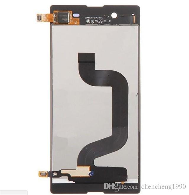 Für Sony E3 Test Neue LCD Touchscreen Digitizer Ersatz D2202 D2206 D2243 Weiß Schwarz Kostenloser Versand