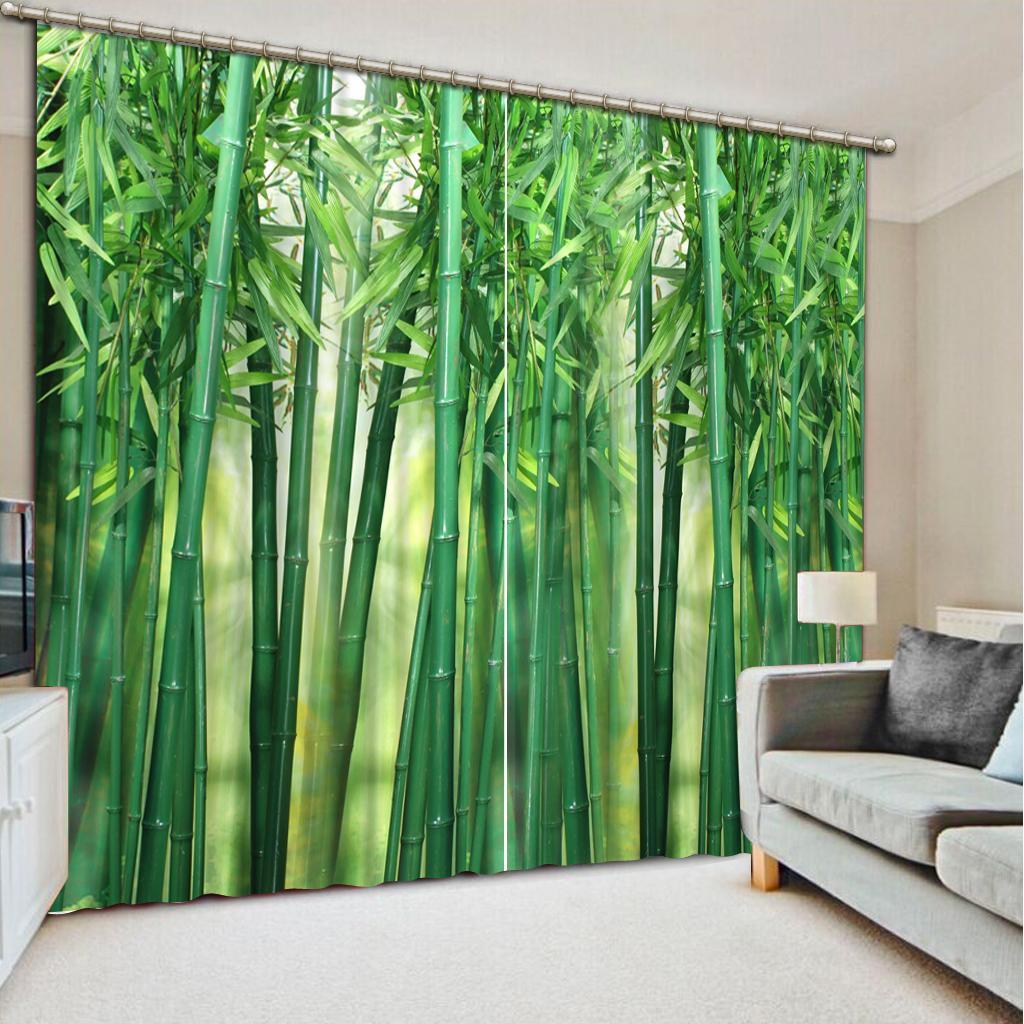 Acheter Fashion 3d Home Decor Beautiful Rideaux Style Rideau D ...