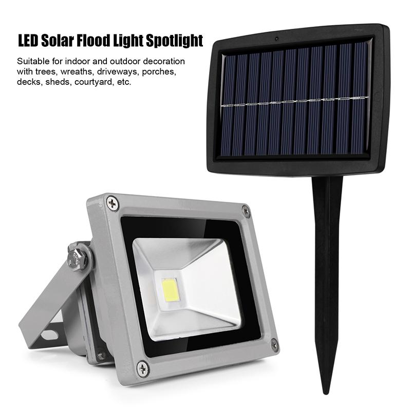 Wholesale high power 10w solar led flood light outdoor waterproof wholesale high power 10w solar led flood light outdoor waterproof garden camp lamps spot light warm white cold white 1000lm floodlight exterior flood aloadofball Image collections