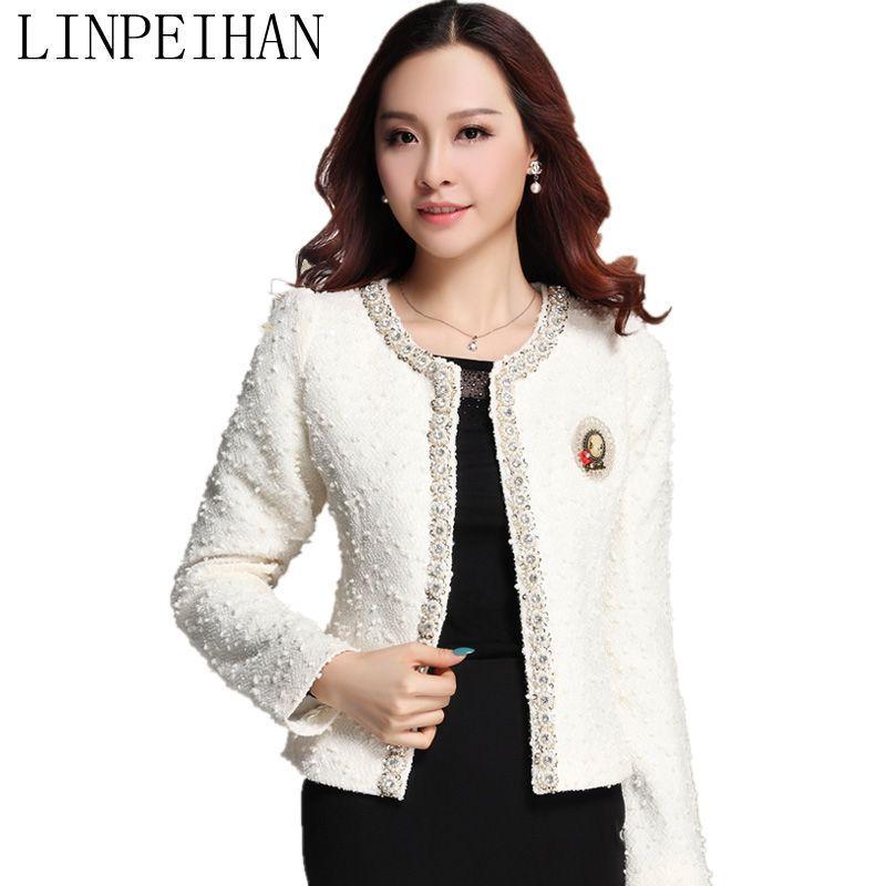 2fd22fe4ee4 Wholesale- Chaquetas Mujer 2015 Women Jacket Spring Autumn Wild Female Coats  Long-sleeved Jacket Cardigan Women Coat Jaqueta Feminina Coat Jacket Women  ...
