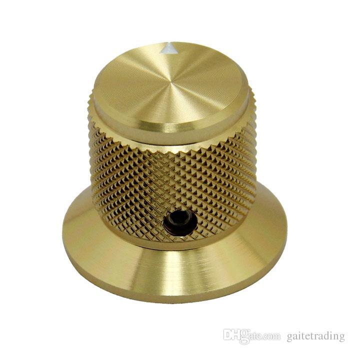 30 * 25mm Gitarre HIFI Elektronische Bauteile Potentiometer-Knopf DIY Digital-TEIL-Ton-Volumenschalter Griff Rohrverstärker