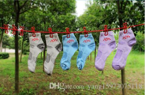 Portable Travel Stretchy Clothesline Camping En Plein Air Coupe-Vent De Vêtements Line Avec 12 Pince Clips Crochets En Plein Air Outil 025