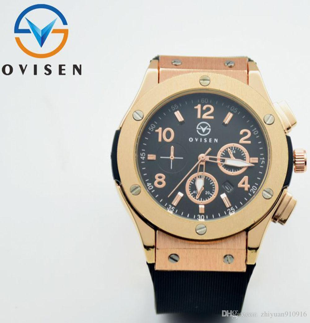 watch strap fashion wrist military watches men from style leather s high casual quality design quartz sports hour item in date clock new