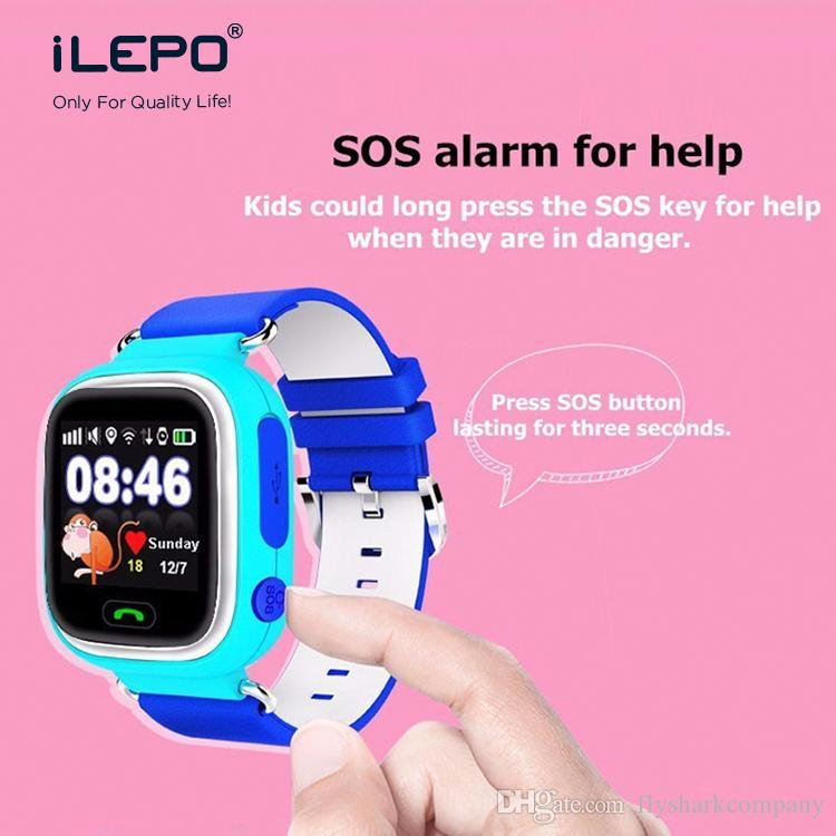 Smart watch fitbit tracker watch for kids TD02 smartwatch android phone  support sim card calling SOS Location by GPS AGPS LBS WIFI