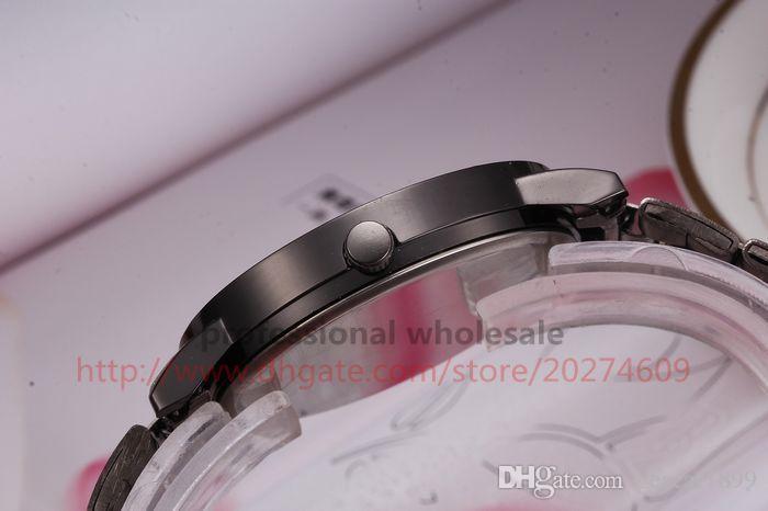 Nova Chegada de Moda Assista Presente Atacado 3 Cores de Luxo Liga de Aço Pulseira De Quartzo Relógio De Pulso Para Mulheres Dos Homens