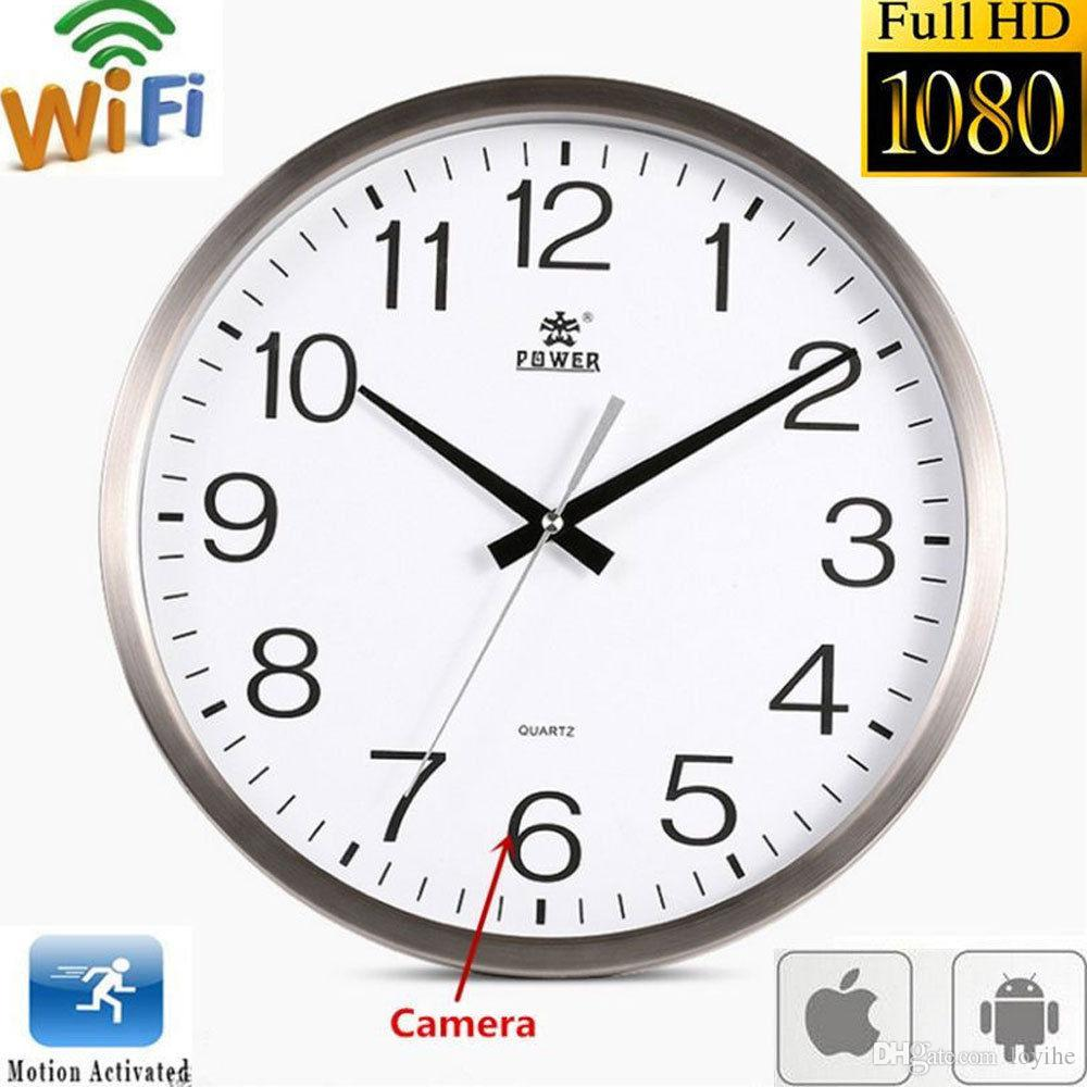Wifi 1080p hd spy hidden wall clock camera dvr motion detection wifi 1080p hd spy hidden wall clock camera dvr motion detection nanny record hidden lens internet security products internet surveillance camera from loyihe amipublicfo Choice Image