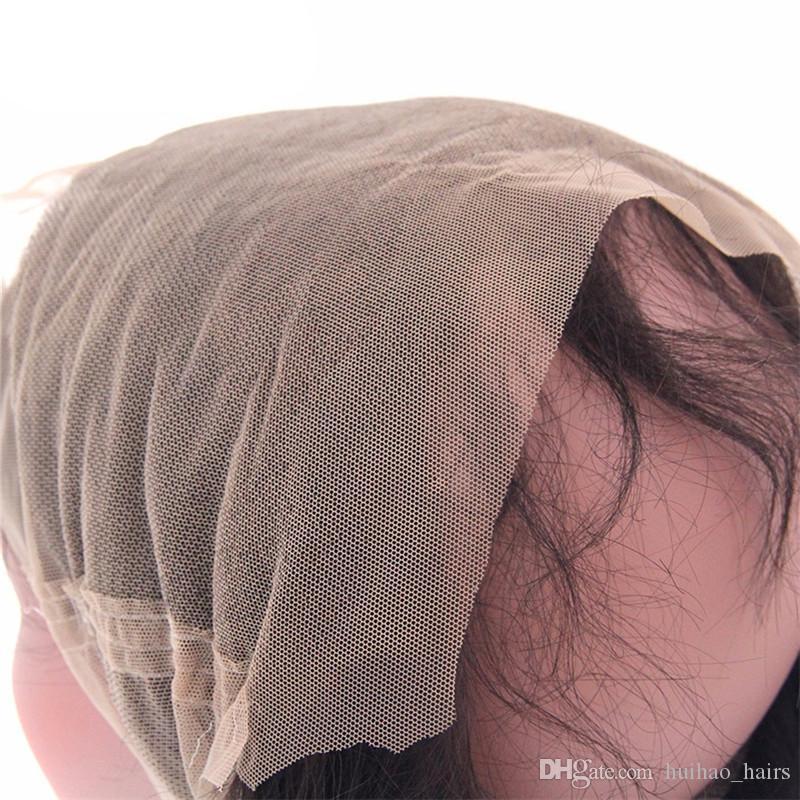 360 Spitze Frontal Schließung rohe reine indische Haar gerade unverarbeitete reine Menschenhaar natürliche Farbe von Huihao_hairs
