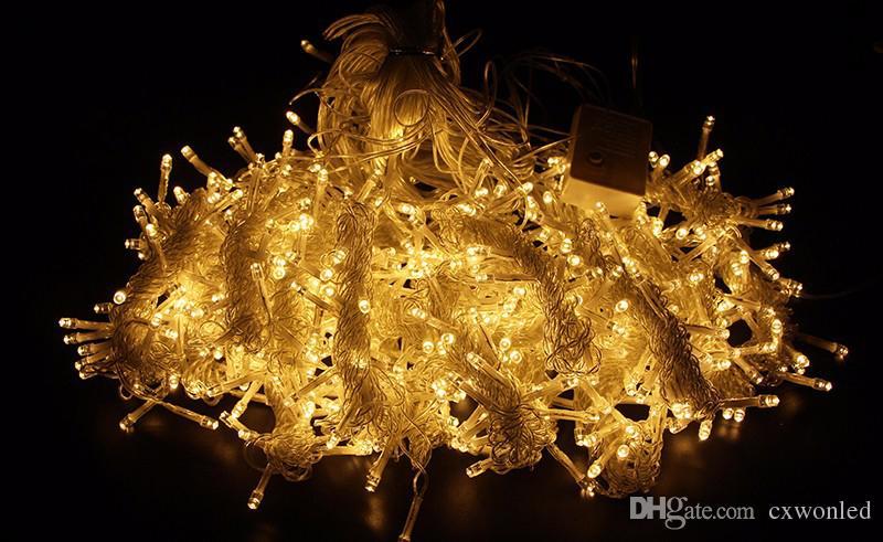 Düğün Dekorasyon ışık 3Mx3M led perde dize peri ışık 300 ampul Yılbaşı Noel Düğün ev bahçe partisi dekorasyon 300leds