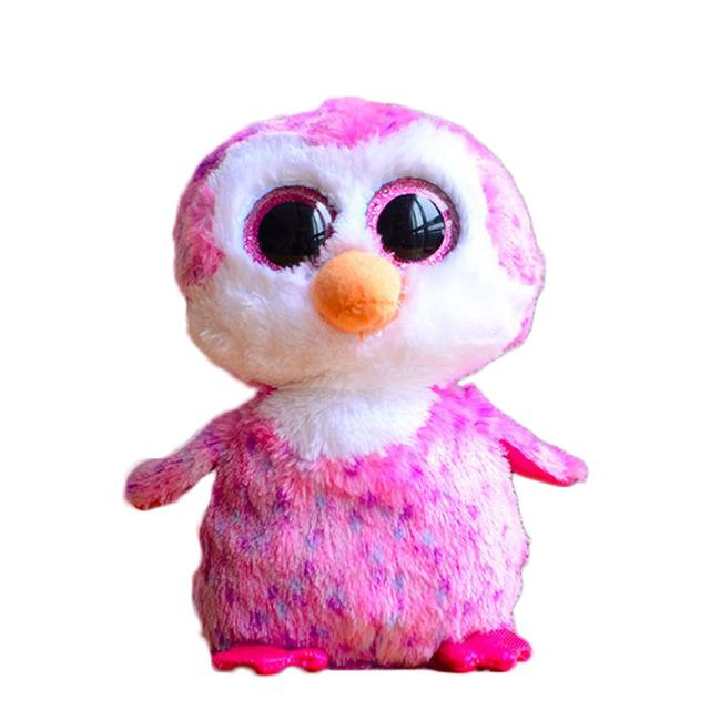 51472335fde 2019 Wholesale Ty Beanie Boos Original Big Eyes Plush Toy Doll 10 15cm Pink  Penguin TY Baby For Kids Brithday Gifts From Wonderfulss