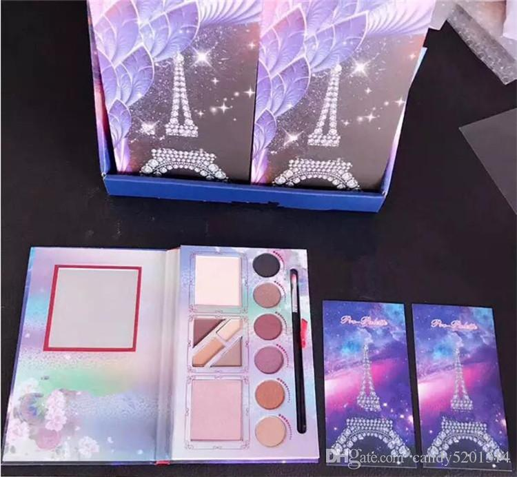 Brand Tower Pro Palette Eyeshadow Eyeshadow Palette With Brushes Best Quality DHL A08
