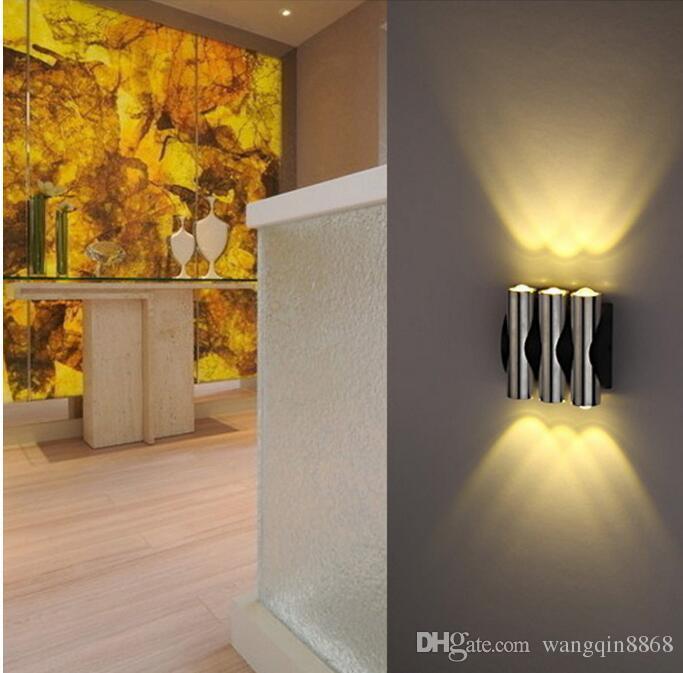 4W Applique murale AC85-265V LED moderne LED créative avec décoration en aluminium pour la salle d'étude