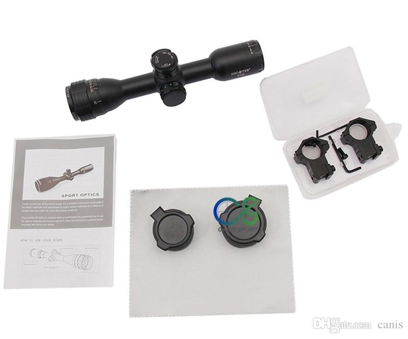 Shooter Scopes ST 6X32AOE Scope Objective Focus Black 1 Inch Tube Diameter Hunting Scope CL1-0357