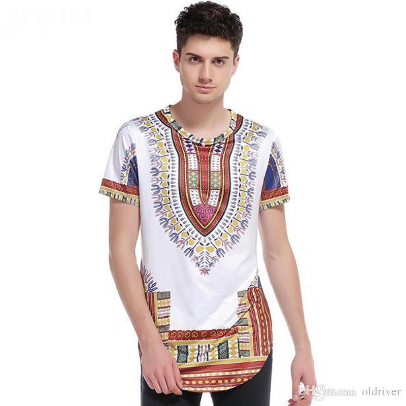Acquista Uomini Di Marca Abbigliamento Etnico Africano 3D Stampa Hip Hop  Street T Shirt Da Uomo Manica Corta O Collo Maglietta Casual Top A  22.33  Dal ... 7b837cae10e8
