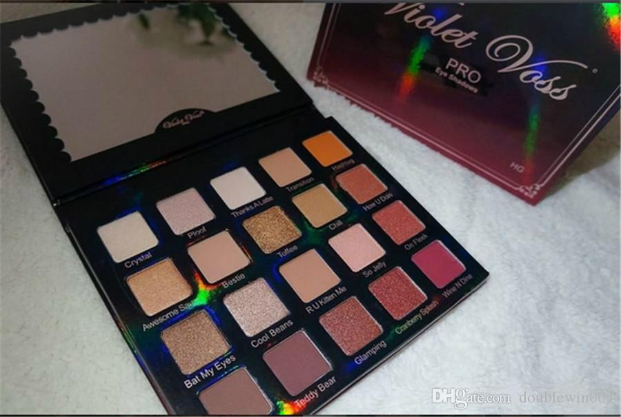 Christmas Valentines Gift HOT NEW Violet Voss Holy Grail Pro Eye Shadow Palette REFOR 20 color eyeshadow Free shipping 24