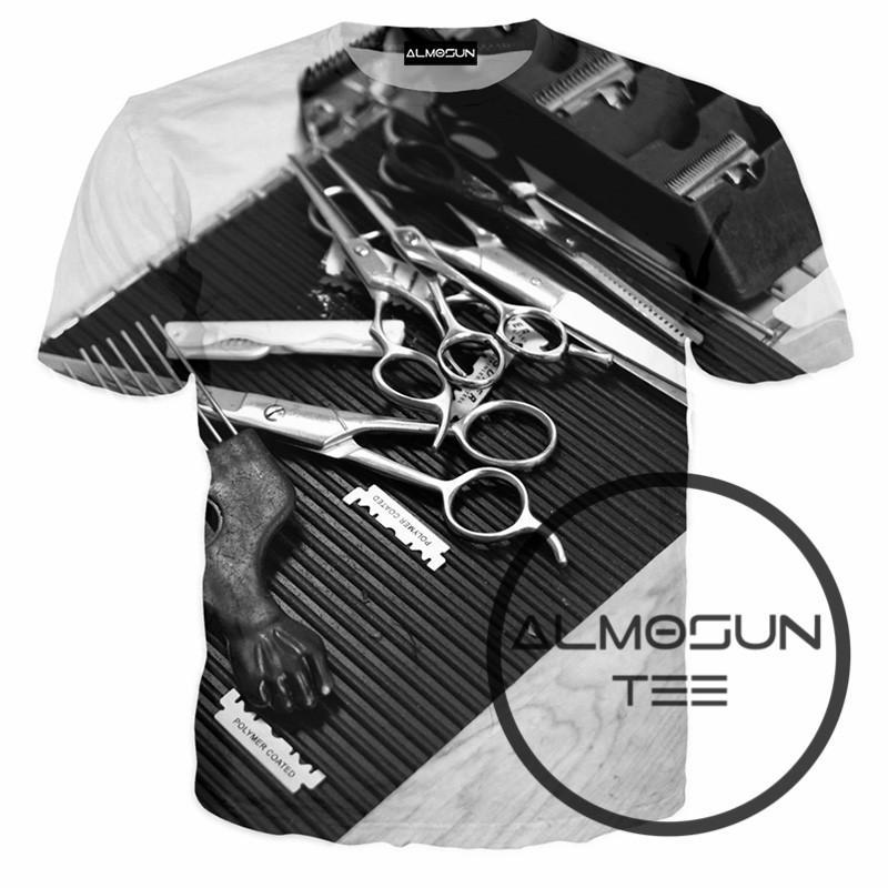 453073683bab6 Satın Al Toptan ALMOSUN Kuaför D All Over Baskı T Shirt Kısa Kollu Hipster  Casual Sokak Giyim Gömlek Hip Hop Tee Erkekler Kadınlar, $32.79 |  DHgate.Com'da