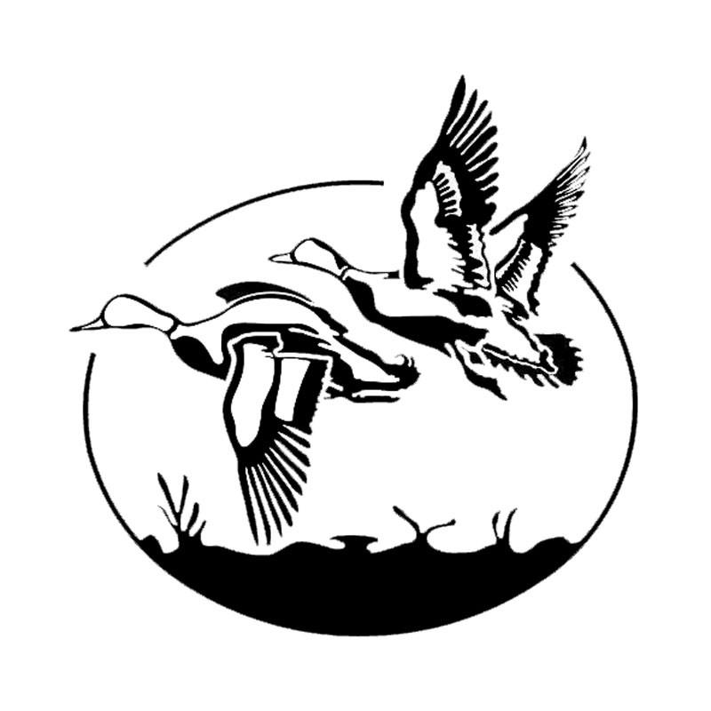 17 8 17 4cm funny flying wild ducks car stickers vinyl hunting vinyl Scion tC Decals 17 8 17 4cm funny flying wild ducks car stickers vinyl hunting vinyl car styling decal jdm car sticker vinyl sticker car styling online with 3 42 piece on
