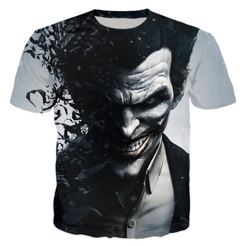 6024f8260450 Wholesale Suicide Squad Womens Mens Harley Quinn The Joker T Shirts Man 3D T  Shirt Black Red Short Sleeve Clothes Online Tees Tee Shirts Design From  Oott, ...