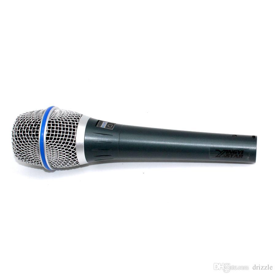 Микрофон Профессиональный Beta87C XLR Проводной Ручной Вокальный Динамический Караоке Микрофон Для Beta 87C BETA87A BETA 87A BETA 87 Микрофон Микрофон Майк