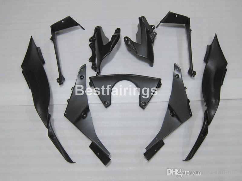 Top-selling moto parts fairing kit for Kawasaki Ninja ZX6R 09 10 matte black bodywork fairings set ZX6R 2009 2010 GT02