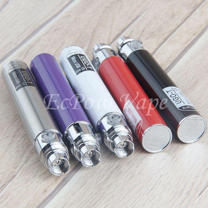 The Cheapest UGO CE4 Vape Pen eGo t Micro USB Charger UGO-T Vape Pens Battery Side Charging Light handy Blister Starter Kit