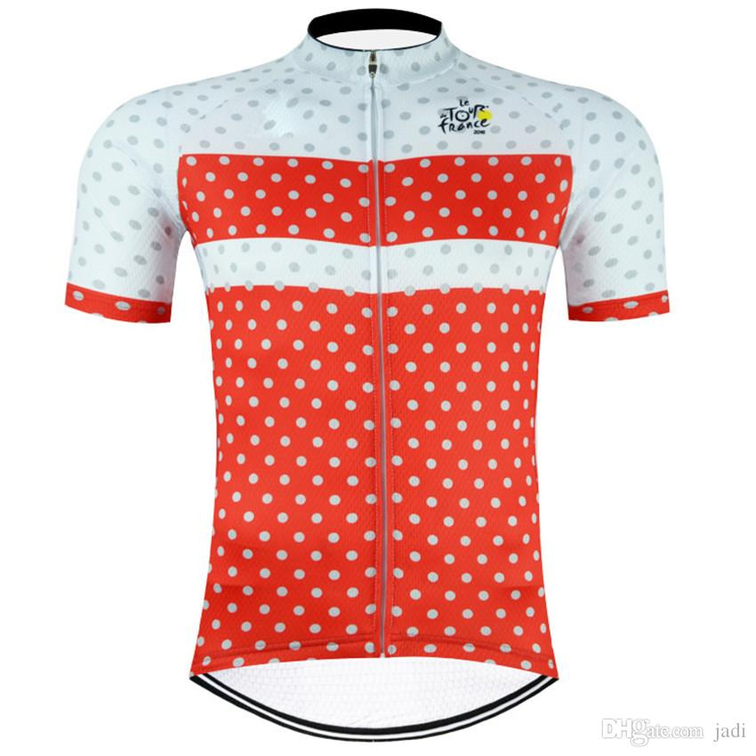 Tour DE France champion 2017 Short Sleeve Cycling Jerseys Roupa Ciclismo/Breathable Racing Bicycle Cycling Clothing/Quick-Dry Bike Clothes