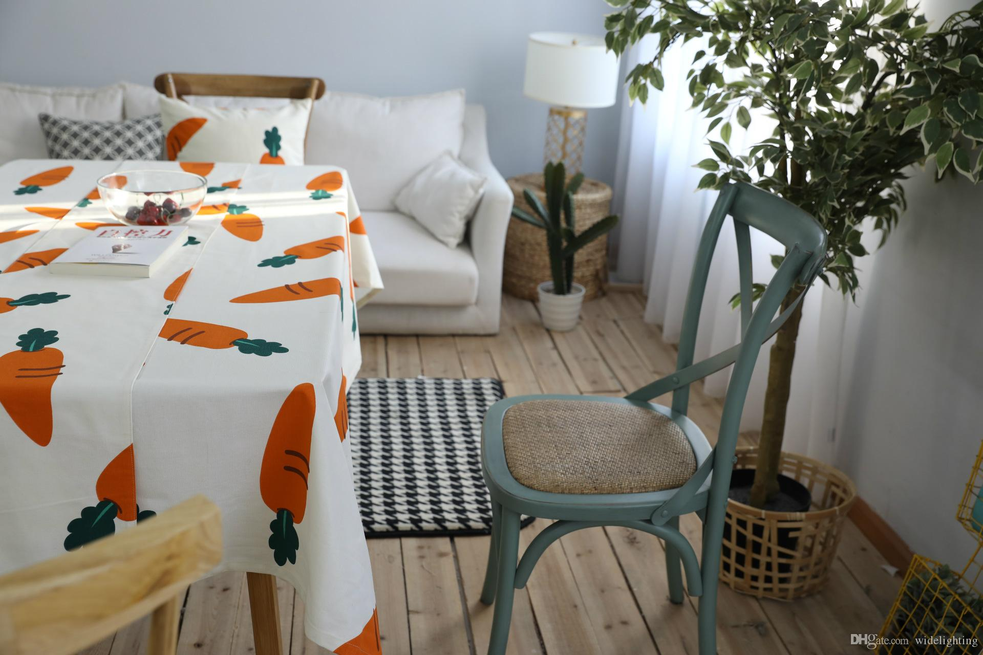 European Style Home Textiles Coffee Table Cloth Carrot Creative