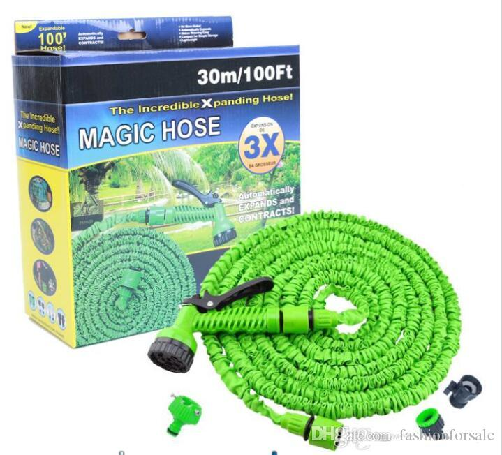 Best 25ft 200ft Garden Hose Triple Expandable Magic Flexible Water Hose Eu Hose Plastic Hoses Pipe With Spray Gun To Watering For Car Drip Under $11.26 ...  sc 1 st  DHgate.com & Best 25ft 200ft Garden Hose Triple Expandable Magic Flexible Water ...