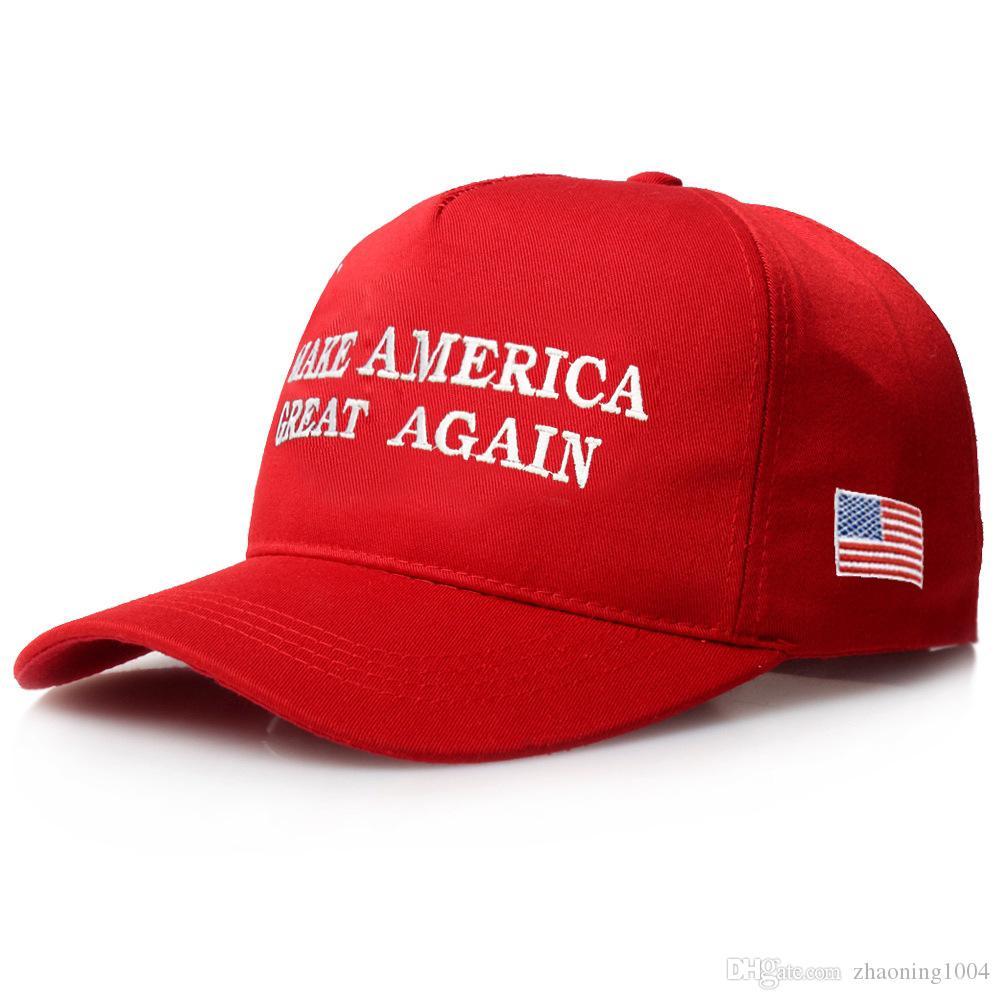 ba200e8e Popular Designer Make America Great Again Letter Embroidery Cotton ...