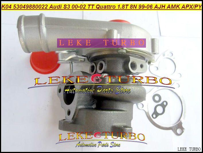 K04 22 53049700022 53049880022 06A145704P Turbo для Audi S3 в 2000-02 ТТ Кваттро 1999-06 ajh начиная АМК АРХ апы 1.8 Т 1.8 л 8Н 225ЛОШАДИНАЯ